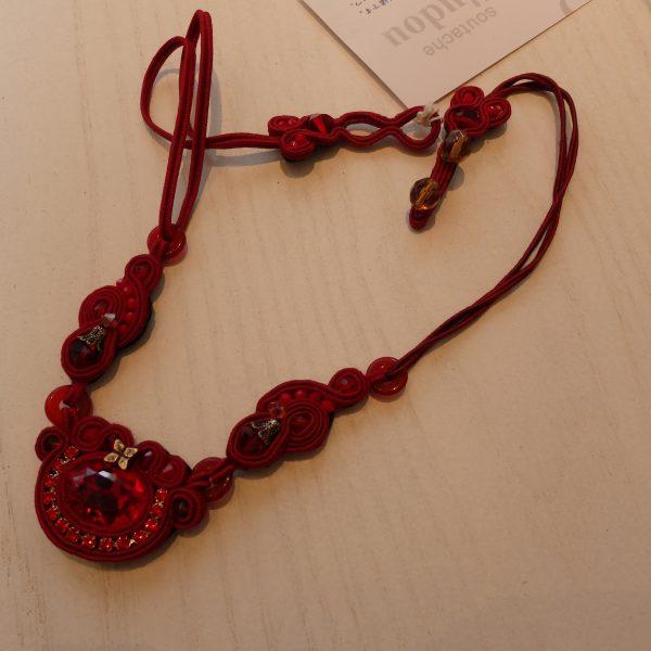 ネックレス   ヨーロッパ伝統のコード刺繍